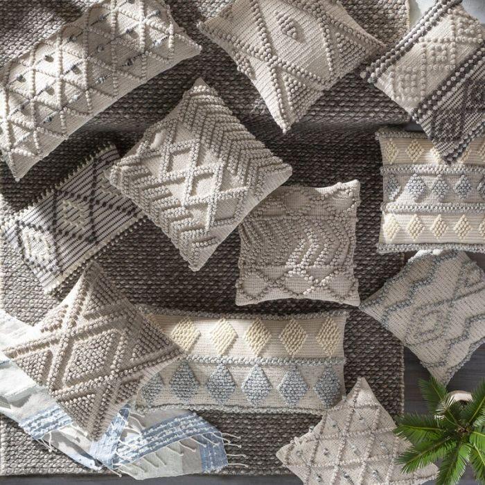 Lassen Geometric Throw Pillow