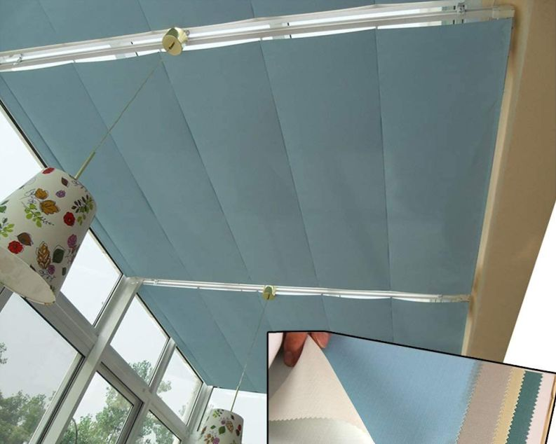 MAHFEI Retractable Wave Canopy Cover