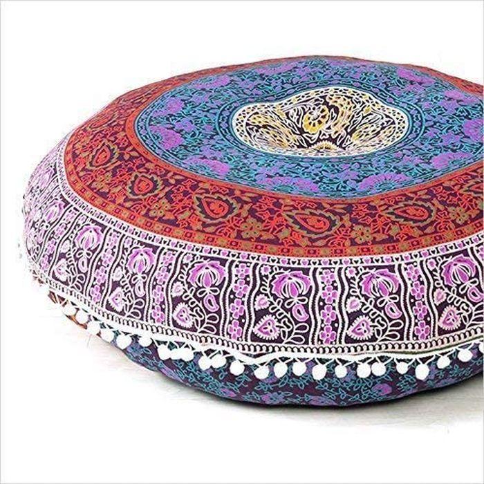 Mandala Hippie Floor Pillows