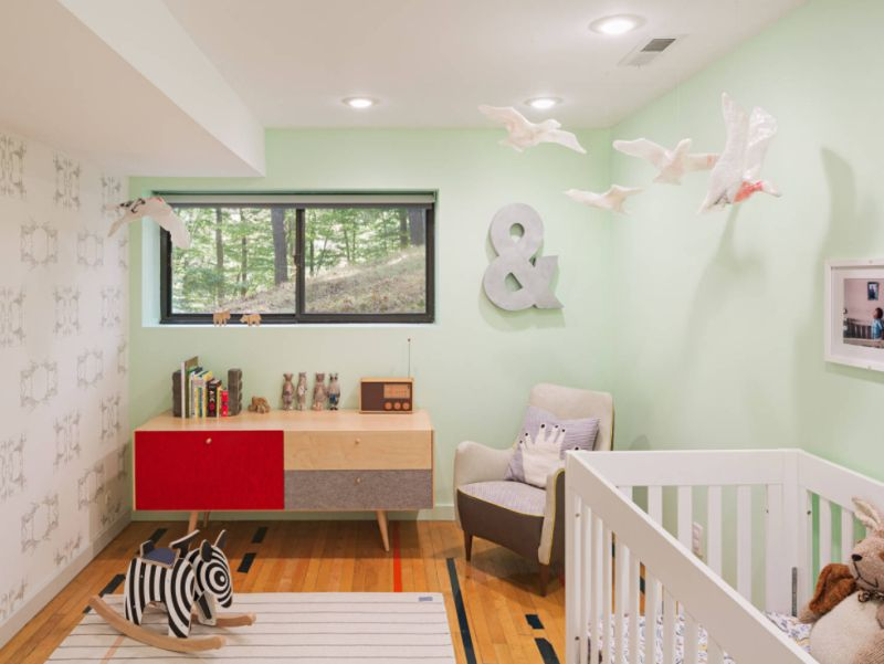 Midcentury Nursery in Philadelphia
