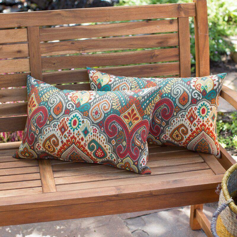 Millry Damask Lumbar Pillow