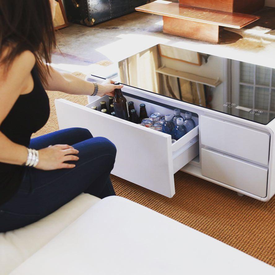 coffee table fridge