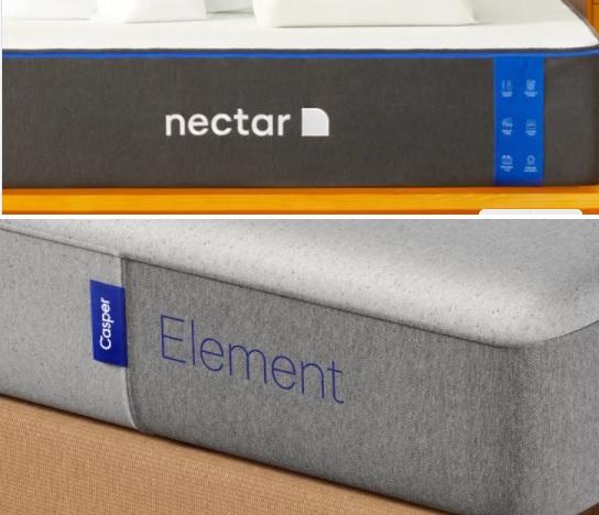 Nectar Mattress vs. Casper Mattress