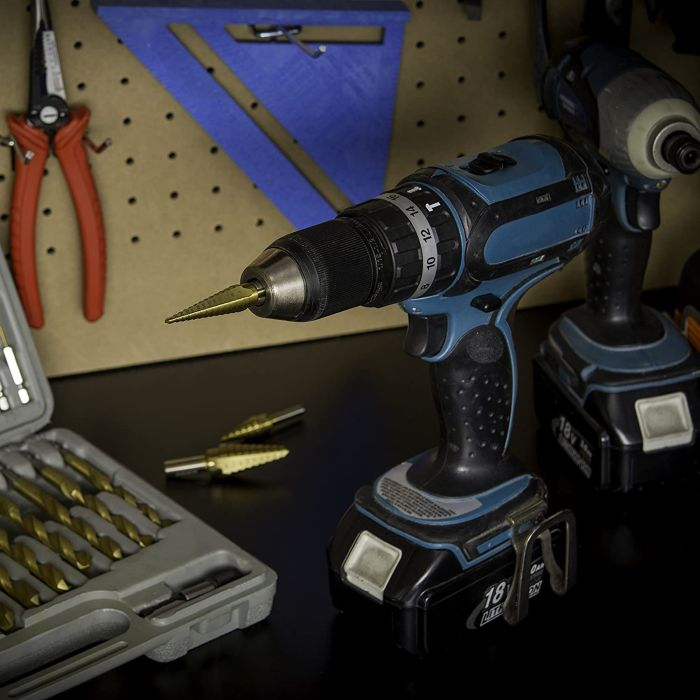 Neiko 10193A Titanium Step Drill Bit Set