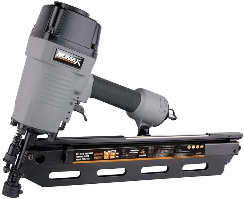 Pistola de clavos neumática NuMax SFR2190