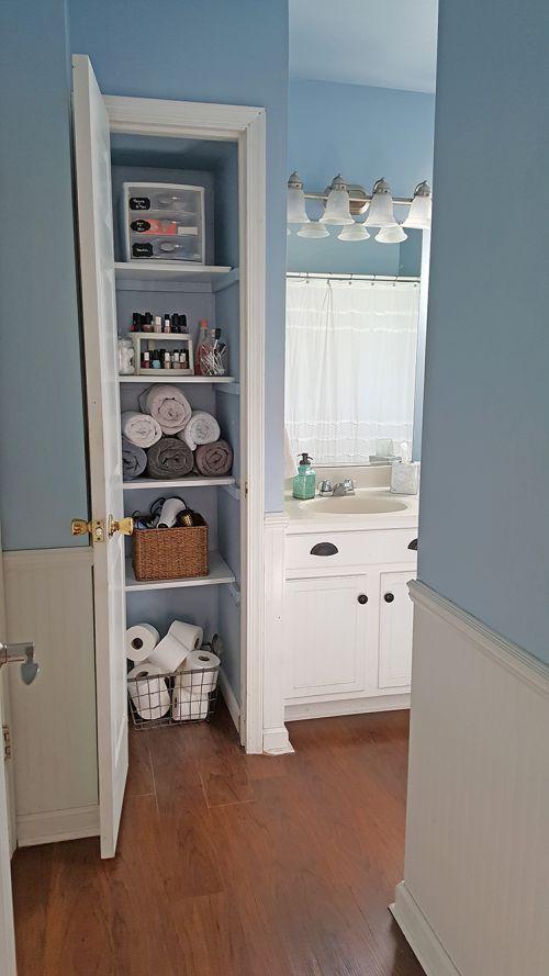 One type of item per shelf