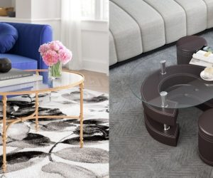 12 Gorgeous Oval Glass Top Coffee Table Ideas