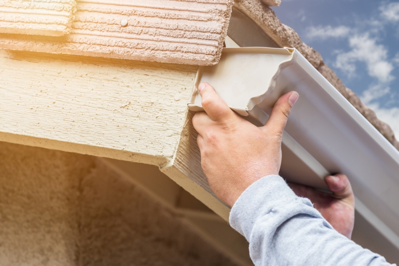 How To Install Rain Gutters And Keep Them Clean