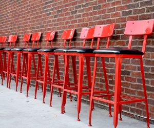 Elevate Your Space With These Red Bar Stool Ideas