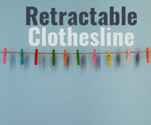 Dry Your Clothes Indoor With A Retractable Clothesline