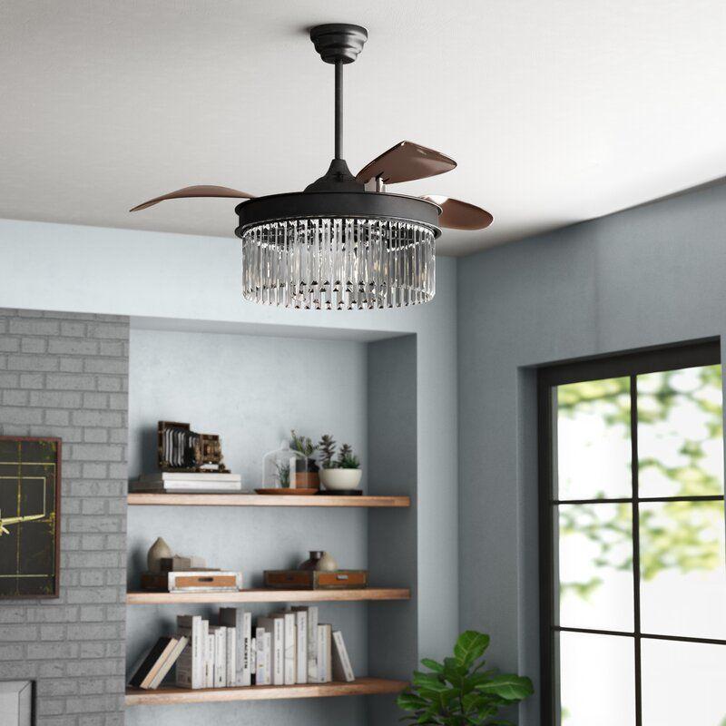 Schulze 3 - Blade Retractable Blades Ceiling Fan