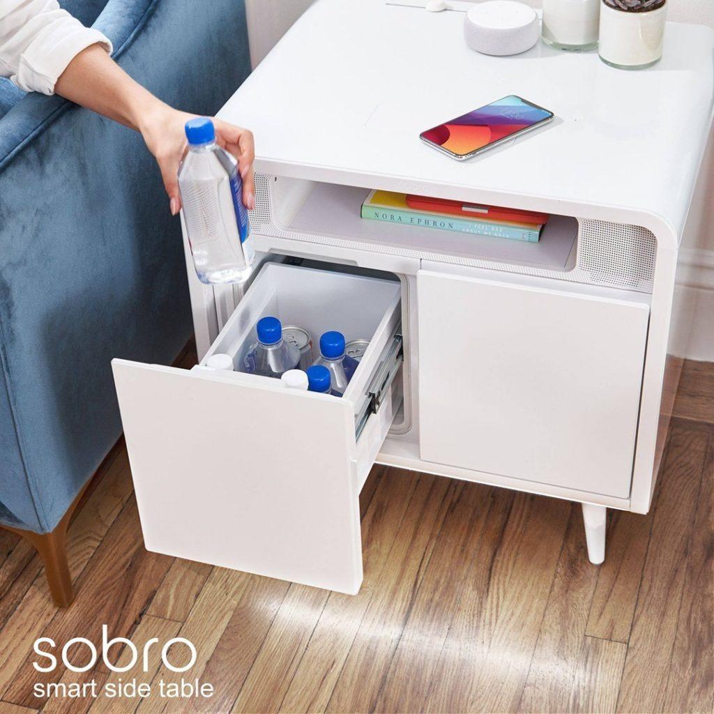 Sobro 2-Drawer End Table