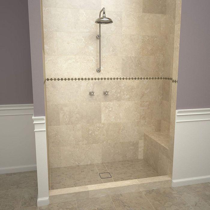 Tile Redi USA Tileable Shower Pan & Seat