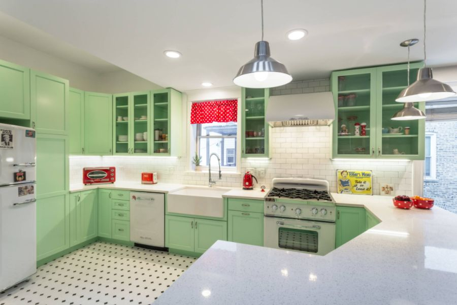 Traditional Kitchen in Chicago