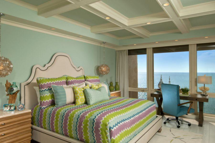 Tropical Bedroom in New York