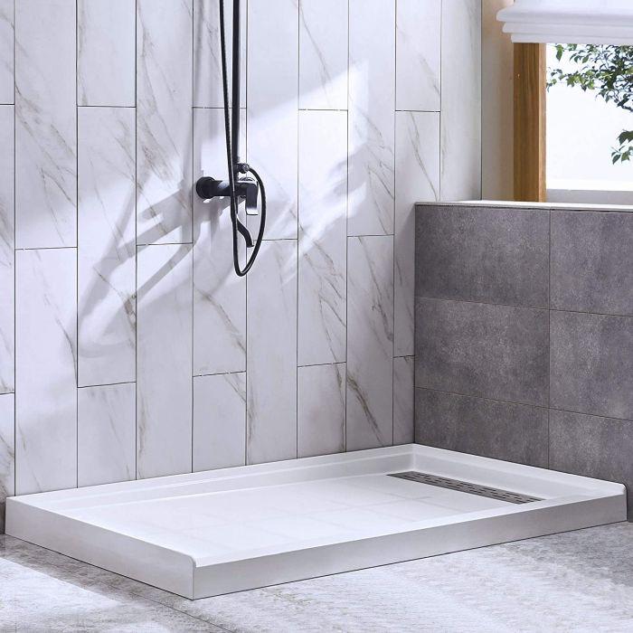 WOODBRIDGE Solid Surface Shower Base