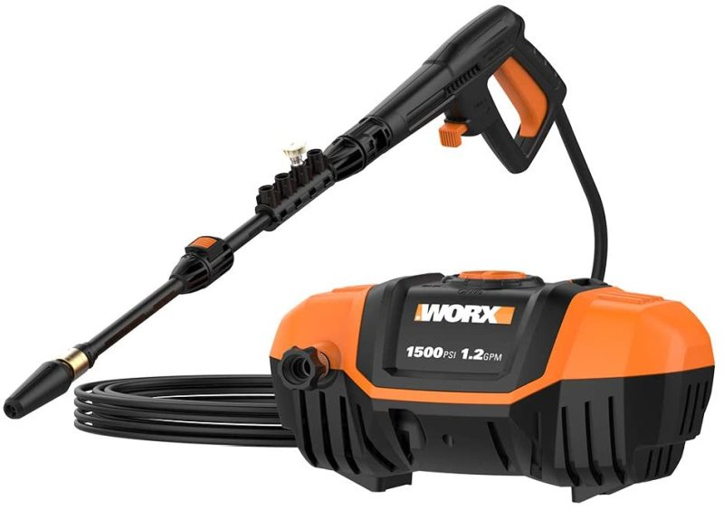 The Worx WG601 1500 PST 13A Electric Pressure Washer