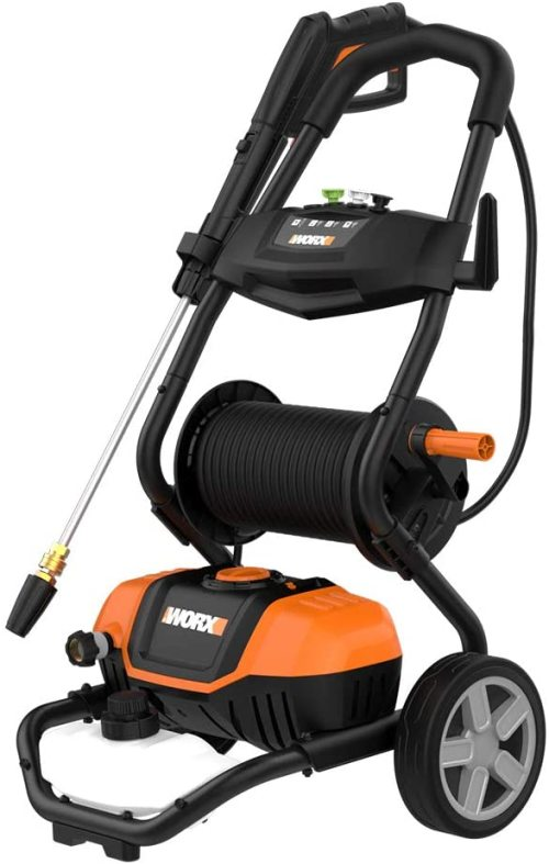 The Worx WG604 1600 PSI 13A Electric Pressure Washer
