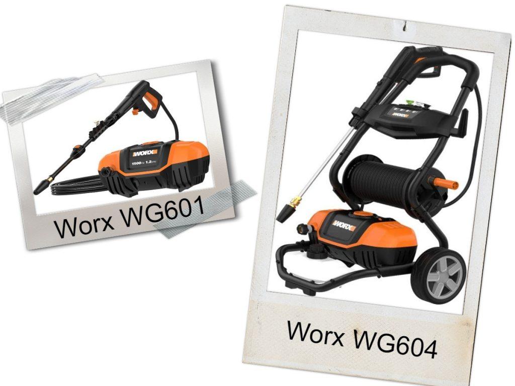 WORX WG604 VS Worx WG601