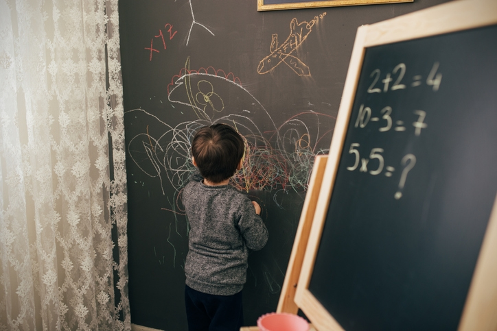 What Is Chalk Paint? Creating A Chalkboard Dream