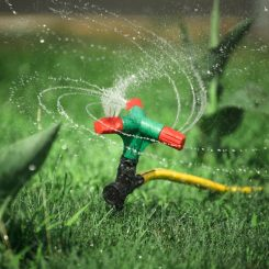 What Is an Above Ground Sprinkler