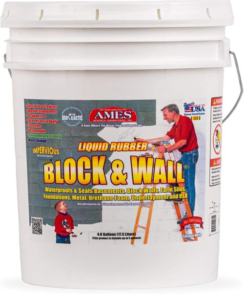 AMES BWRF5 Water Base High Strength Elastomeric Liquid Rubber