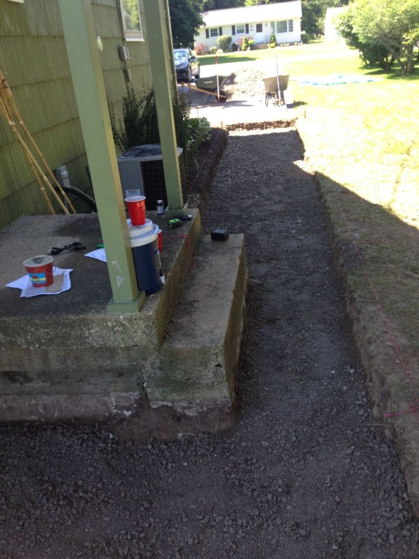 Step 6: Add Gravel And Slope