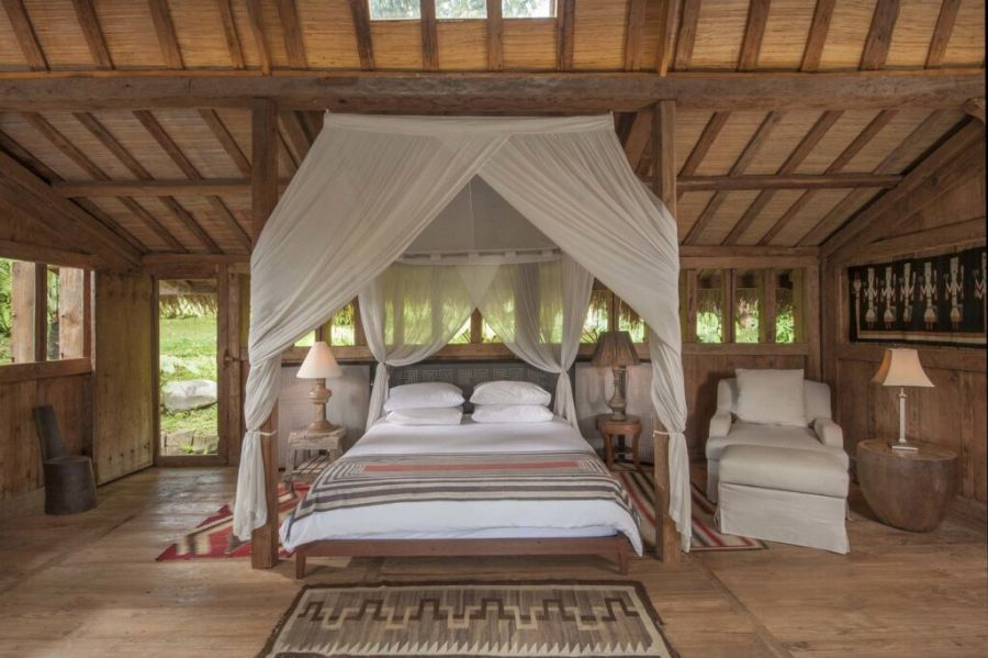 Add a bed canopy