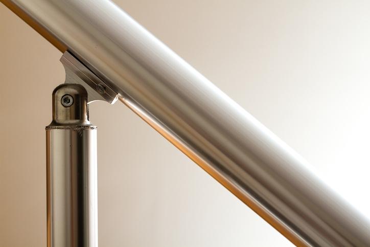 Aluminum stairs handrail