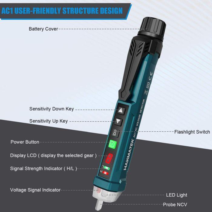 Auroland Non-Contact Voltage Tester