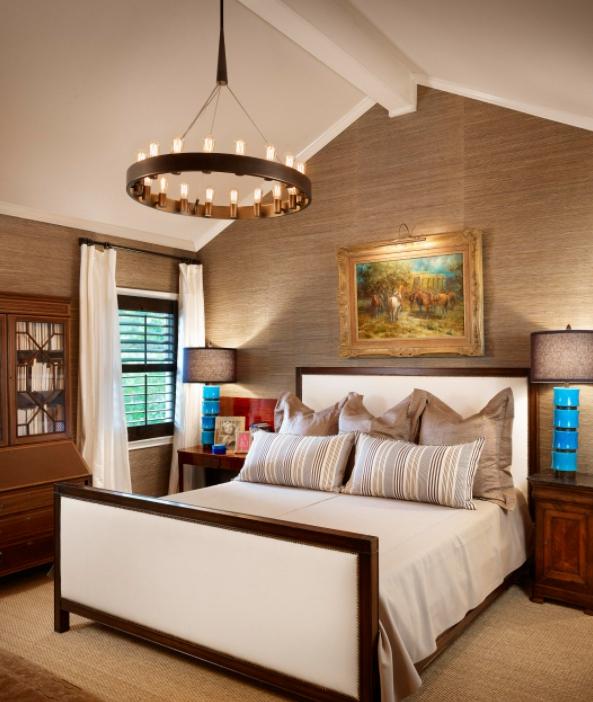 Beige and tan bedroom decor