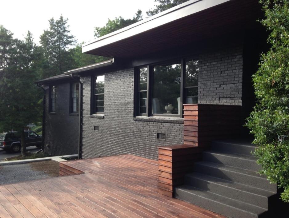 Black Exterior House Paint