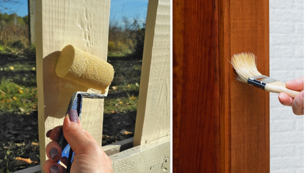 Do I Use a Brush or Roller to Stain Fence?
