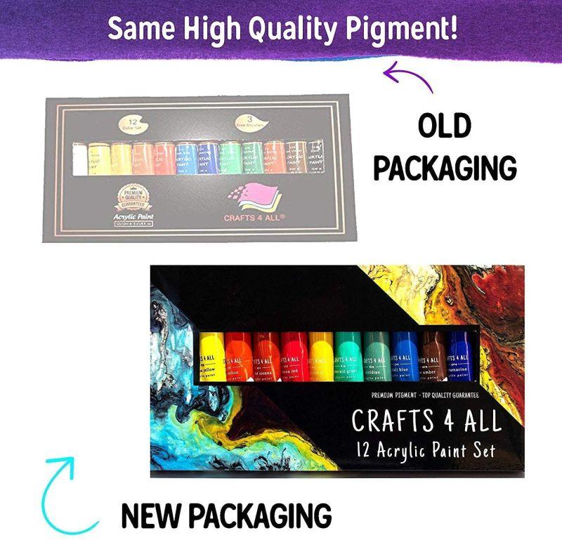 Crafts 4 All Acrylic Paint Set