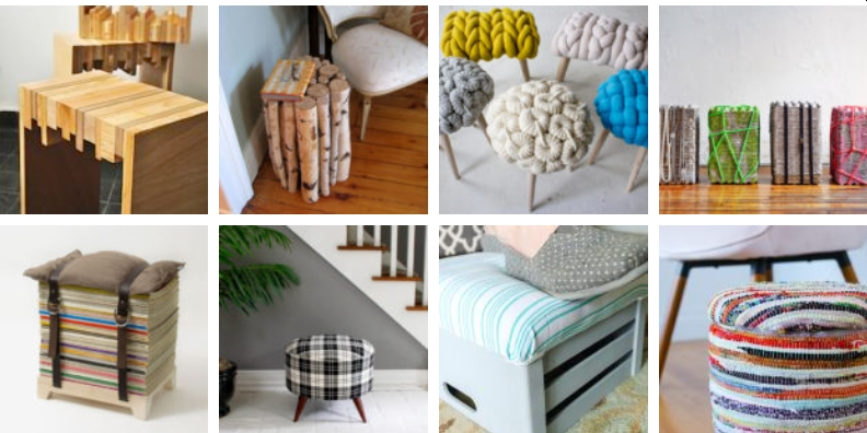 25 DIY Stool Ideas You Can Make From Scrap Materials