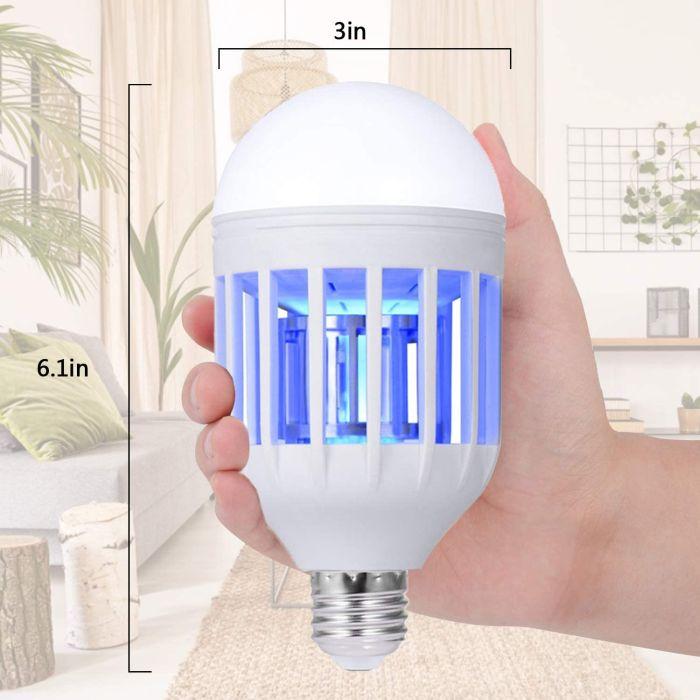 GLOUE Bug Zapper Light Bulb