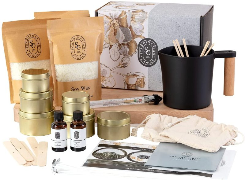 Scandinavian Candle Co. Luxury Candle Making Kit
