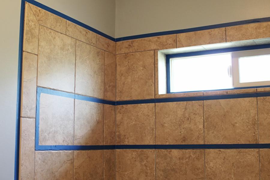 Step 1: Prep the Tile and Wall