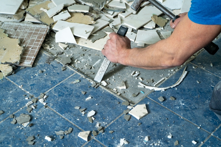 How To Remove Tile Floors