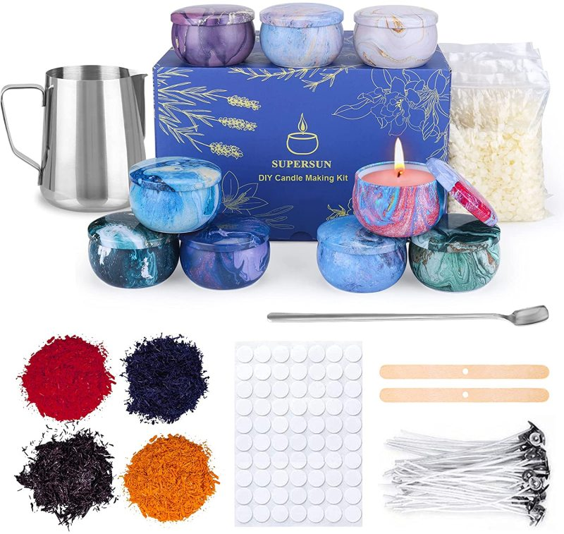 SUPERSUN Scented Candles Making Supplies