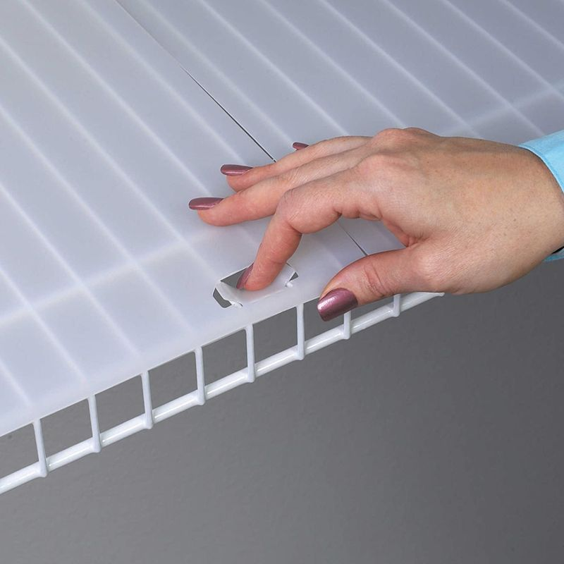 Shelf Liner for Wire Shelving with Locking Tabs