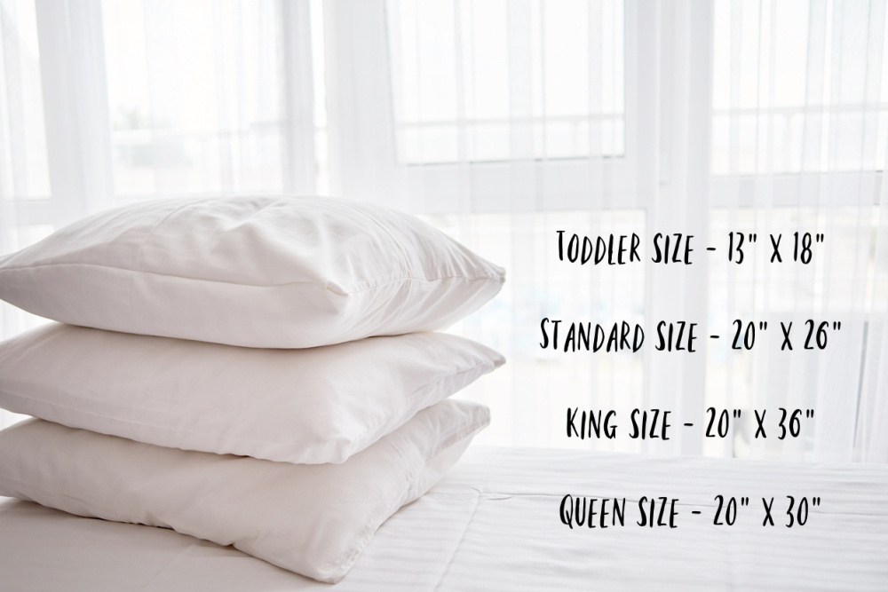 What Are the Different Sizes of Pillowcases