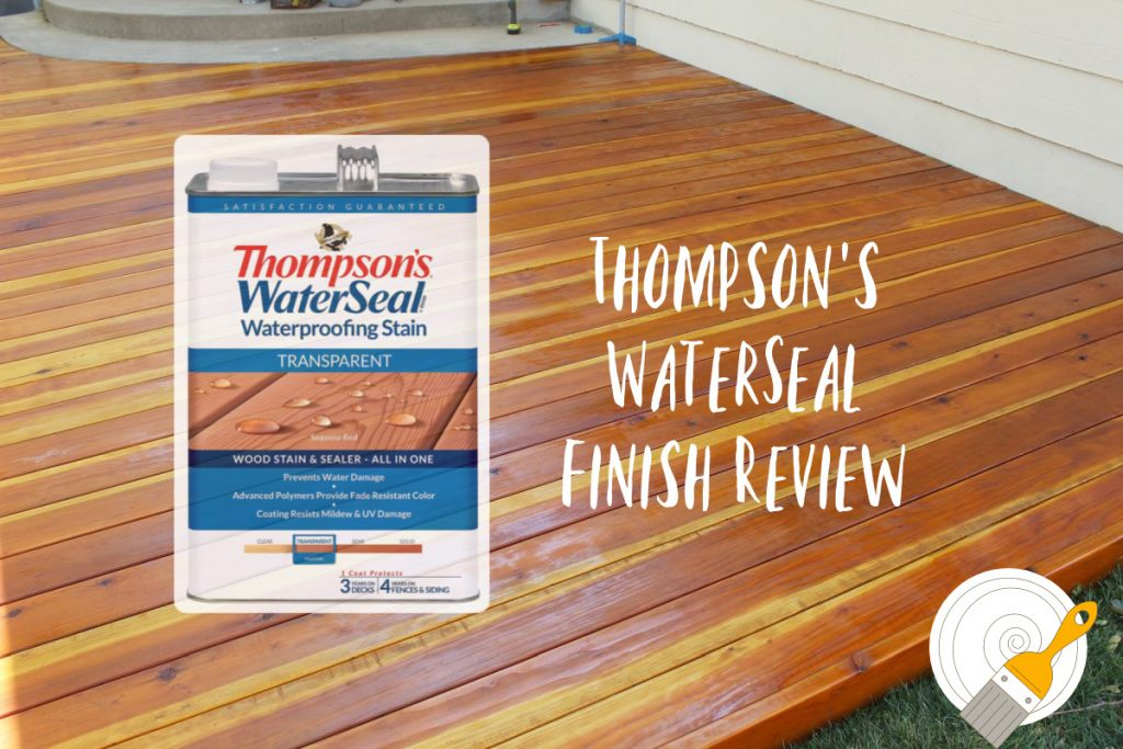 Deck With The Thompson S Water Seal