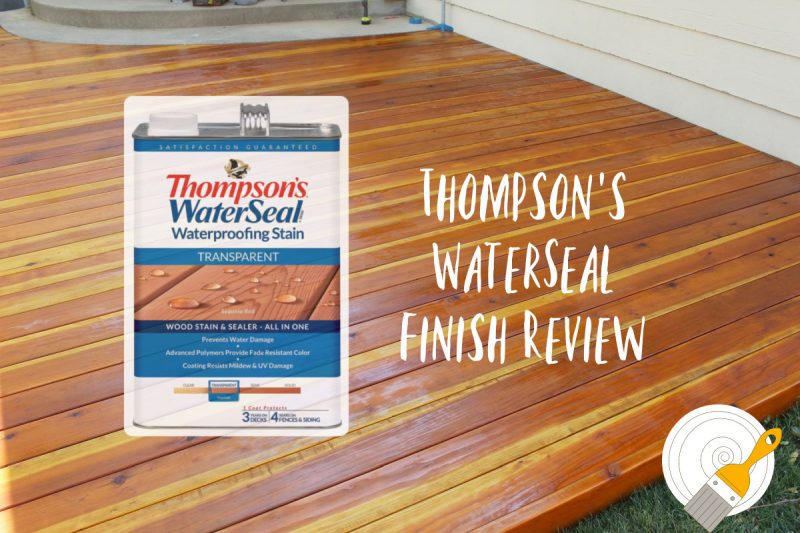 Protect Your Deck with The Thompson's Water Seal
