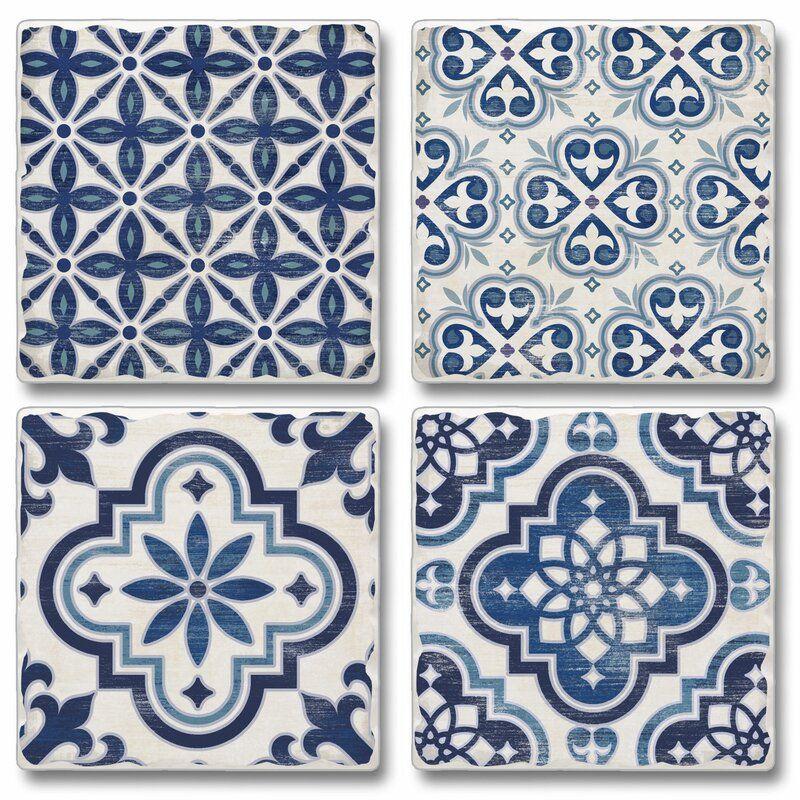 Tumbled Tile Coaster