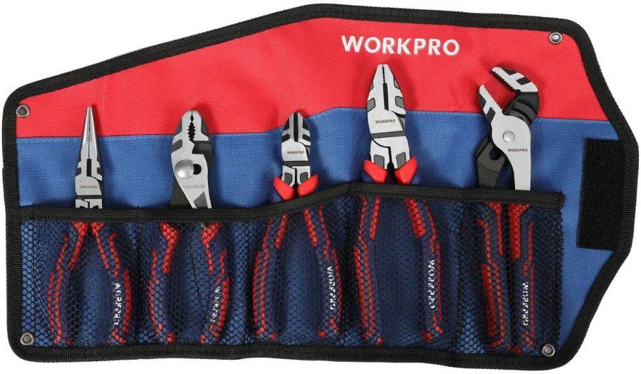 WORKPRO 5-piece Pliers Set