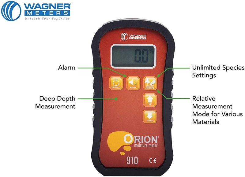 Wagner Meters Orion 910 Pinless Wood Moisture Meter