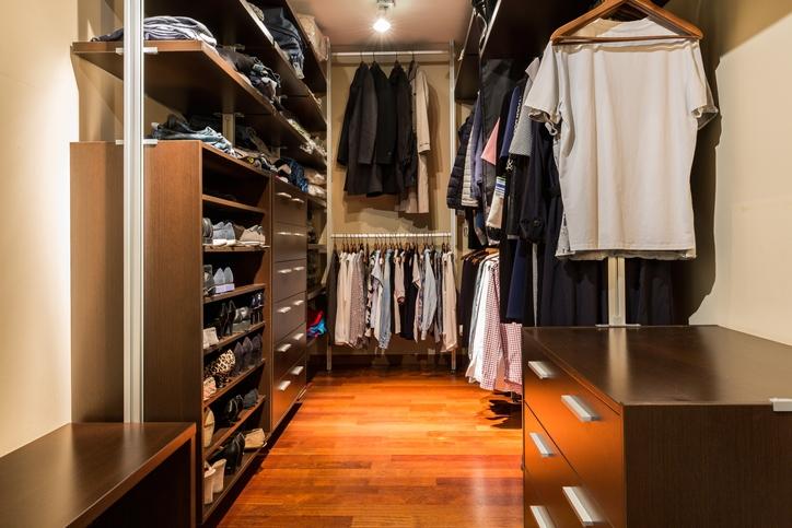 Walk-In Closet Size Options