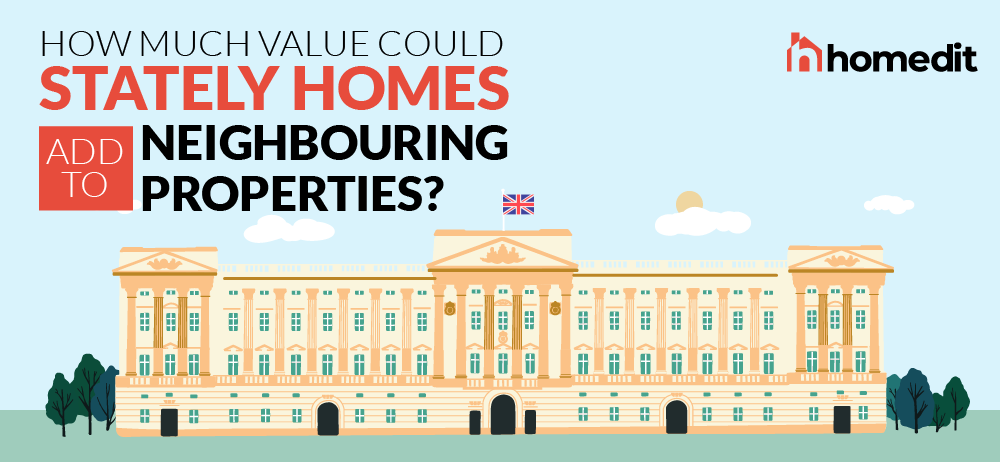 How Much Value Could Stately Homes Add to Neighbouring Properties?