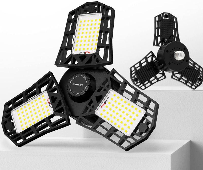 2-Pack LED Garage Light